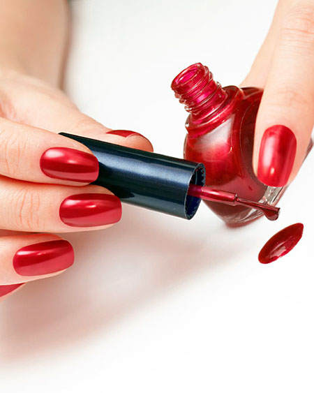 Esmalte de uñas pueden causar cáncer