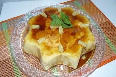 Exquisita y saludable: Tarta de  Piña al microondas.