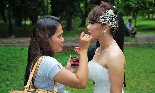 Fáciles consejos de maquillaje para las novias