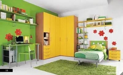 La habitación de los niños a partir de los 3 años