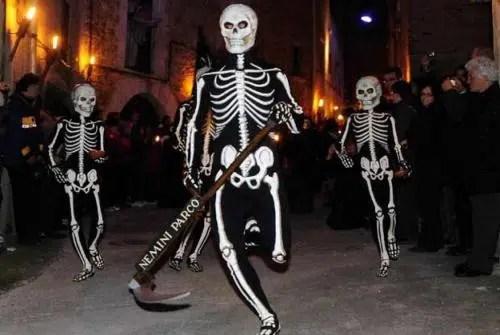 La siniestra Danza de la Muerte de la localidad de Verges