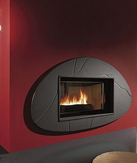 Las chimeneas, confortables y decorativas