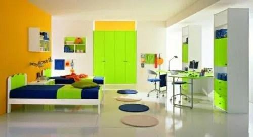 Los colores de las paredes