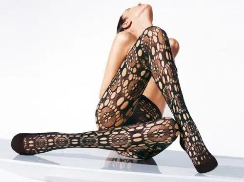 Los leggins y las medias con diseño