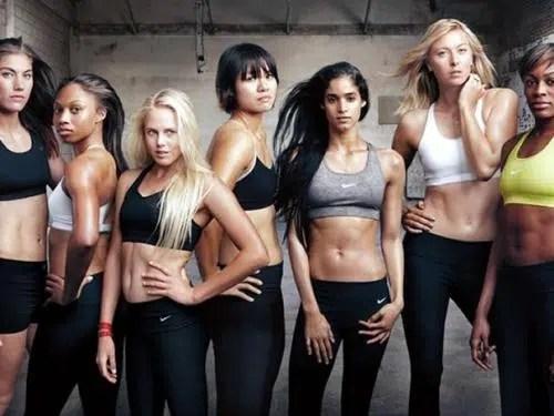 Nike, Las líneas más destacadas en su tienda online