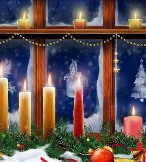 No olvides adornar las ventanas en navidad - Adornar la casa en navidad ...