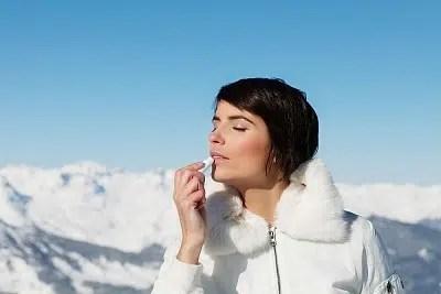 Protege tus labios contra el frío