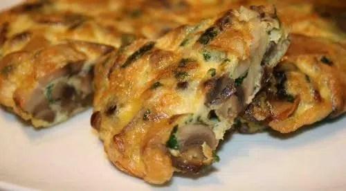 Rápida y deliciosa:Tortilla de Setas