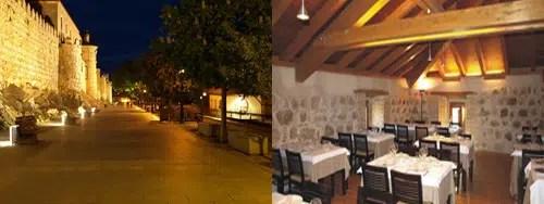 Restaurante La Bruja de Ávila: una cena junto a las murallas