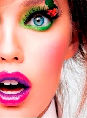 Tendencias de los labios bicolor
