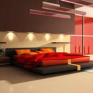 Un ambiente confortable combinando el color marrón