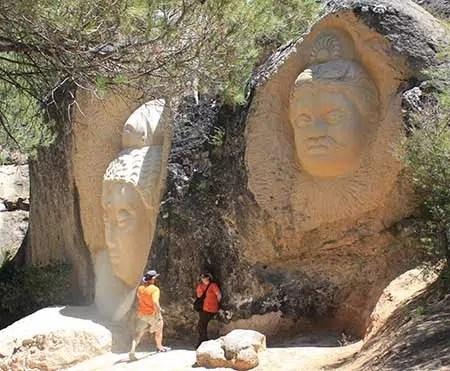 Un lugar mágico para visitar: las enigmáticas caras de Buendía