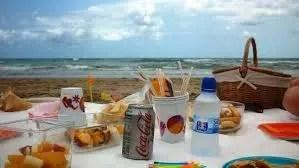 Un menú ideal para un día de playa