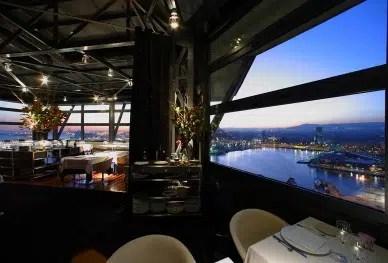 Una cena de altura en el restaurante Torre d