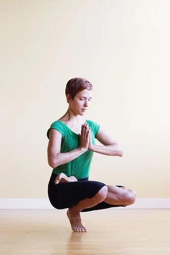Yoga para una piel brillante