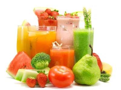 Zumos de frutas: sus propiedades según su color