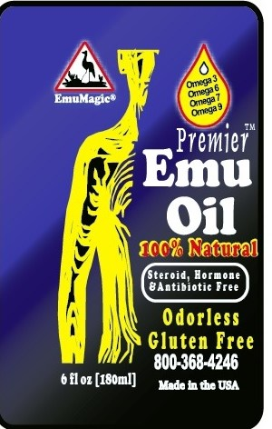 Premier™ Emu Oil 6oz