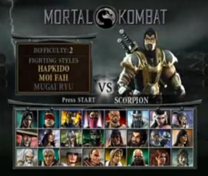 Mortal Kombat Deception ISO