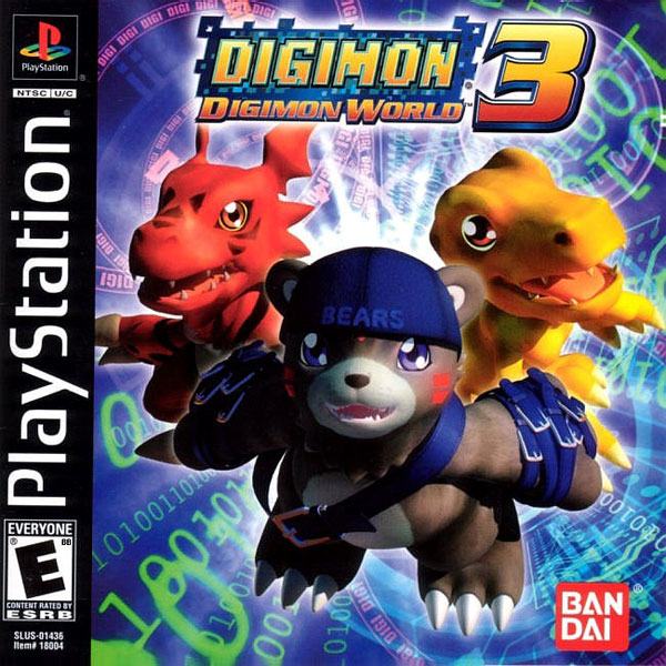 Digimon World 3 [U] Front Cover