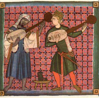 Juglares en la Edad Media