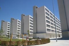 Imagen de la promoción Nuevo Amate, construida por EMVISESA donde se encontraban los edificios de Regiones Devastadas.