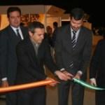 Jesús María Sánchez y Felipe Castro en un momento de la inauguración de CLIMAR.