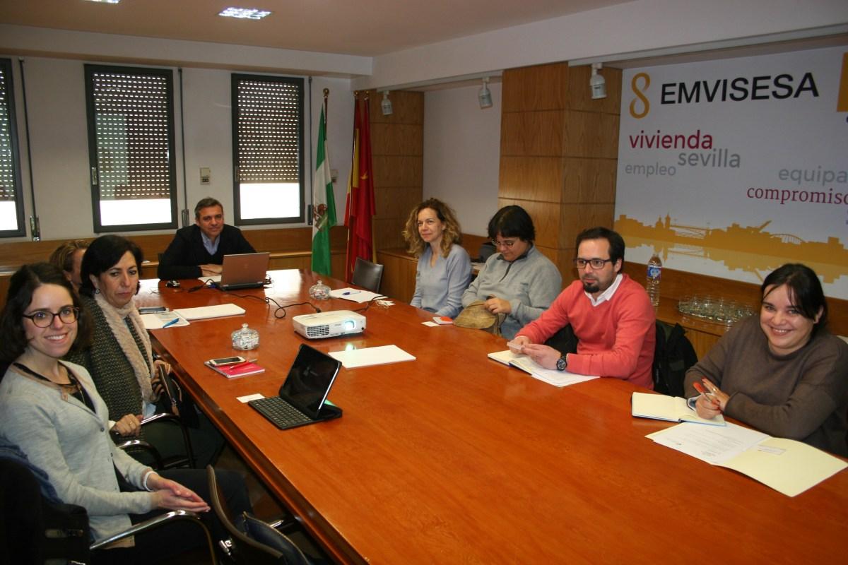 """Emvisesa recibe a representantes de Salónica y Braga en el marco del """"Pacto de los Alcaldes para el Clima y la Energía""""."""