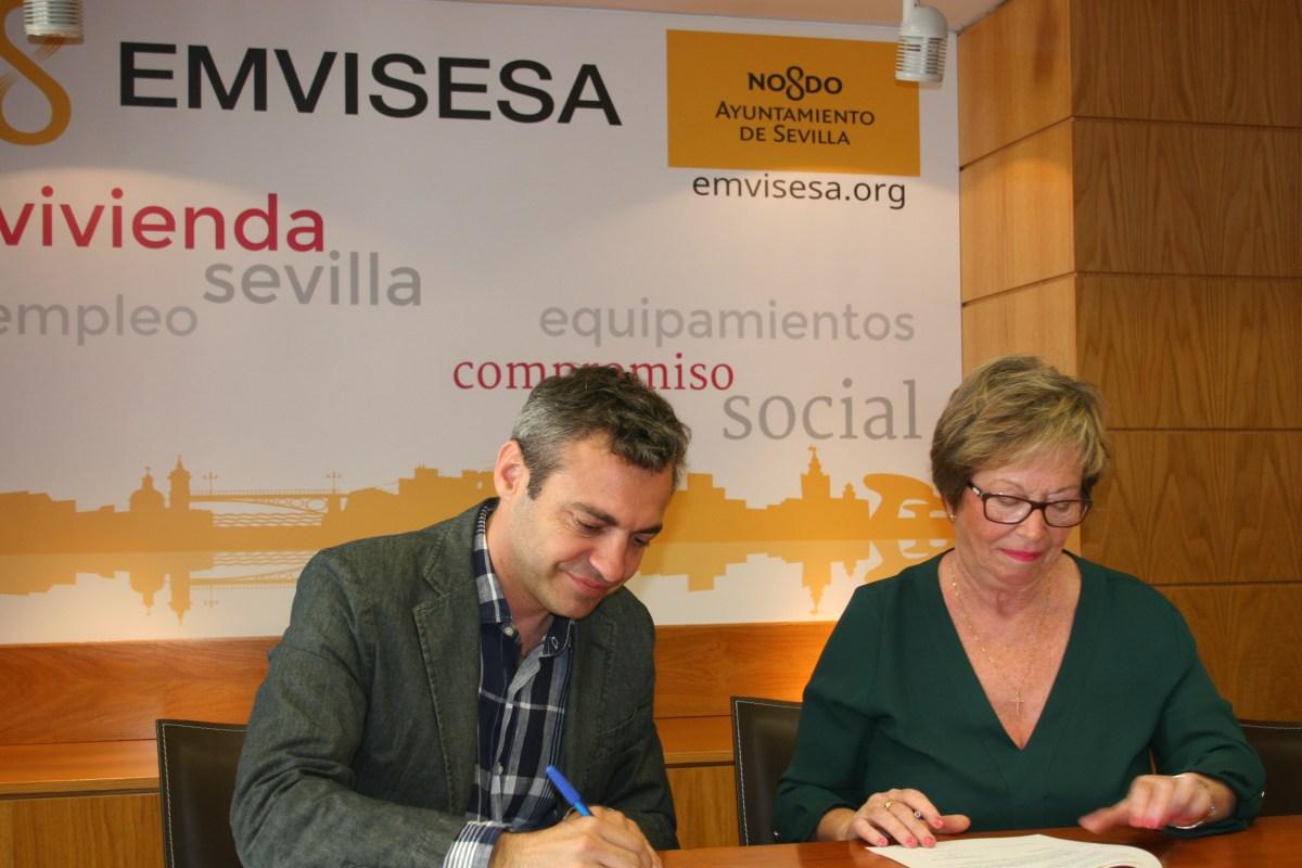 Emvisesa entrega las dos primeras viviendas a la Asociación Paz y Bien para facilitar la integración de personas con discapacidad intelectual.
