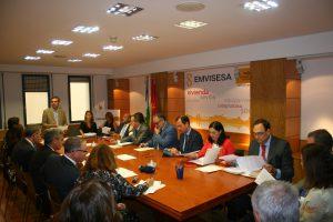 Felipe Castro ha dado la bienvenida a los representantes de las entidades financieras más importantes en Sevilla.