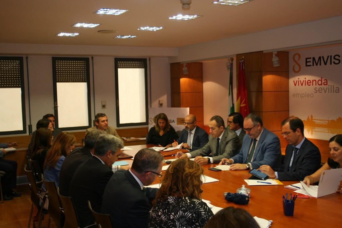 Constituidas la Mesa Sectorial Financiera y la Comisión Especial de Seguimiento de Ocupaciones Irregulares