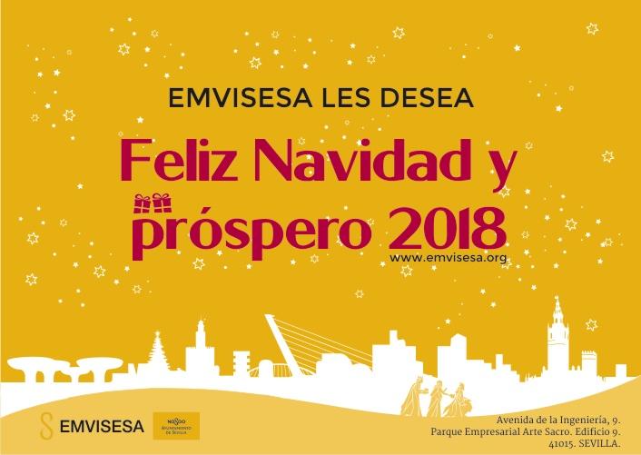 Emvisesa les desea un feliz año 2018
