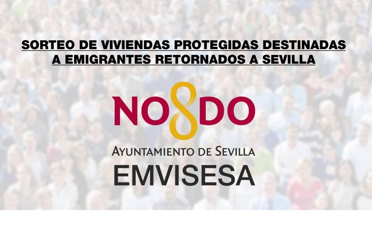 Puedes seguir en directo el sorteo para la adjudicación de viviendas de Emvisesa destinadas a emigrantes retornados a Sevilla. Suscríbete y no te pierdas nada.