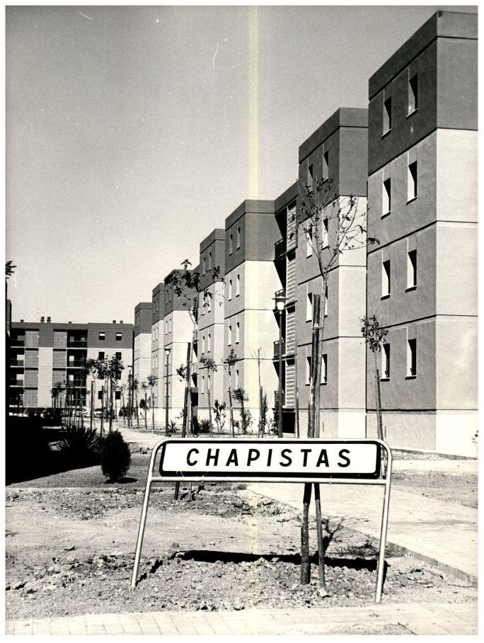 540 viviendas de renta limitada entregadas en 1977 en Pino Montano.