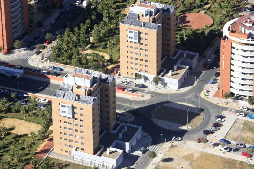 2 promociones de Emvisesa en Bellavista, con un total de 86 viviendas protegidas.