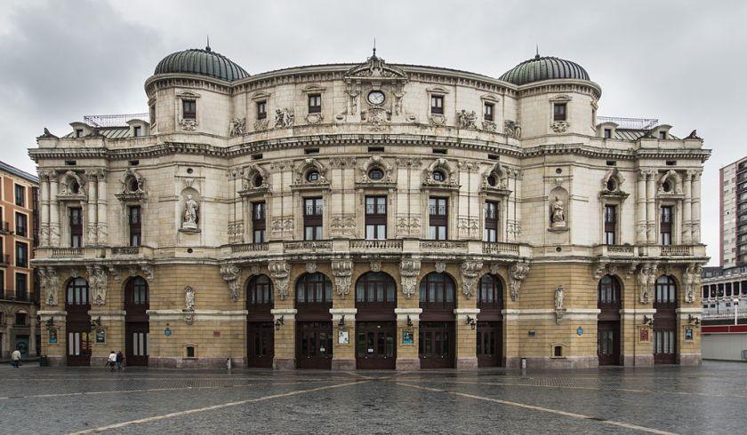 Teatro Arriaga, Bilbao. Fotografía de Pedro J Pacheco - Trabajo propio, CC BY-SA 3.0 es, https://commons.wikimedia.org/w/index.php?curid=35708413