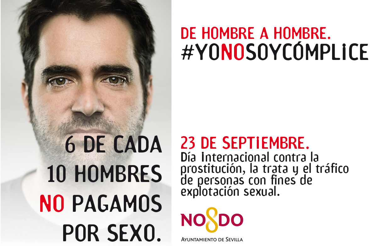 Emvisesa colabora en la difusión de #Yonosoycómplice, la campaña del Ayuntamiento con motivo del 23S, Día Internacional contra la Prostitución, la Trata y el Tráfico de Personas con Fines de Explotación Sexual