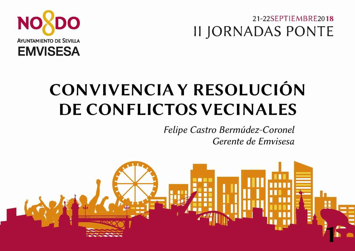 """Emvisesa expone sus premiados """"Programas de convivencia y resolución de conflictos vecinales"""""""