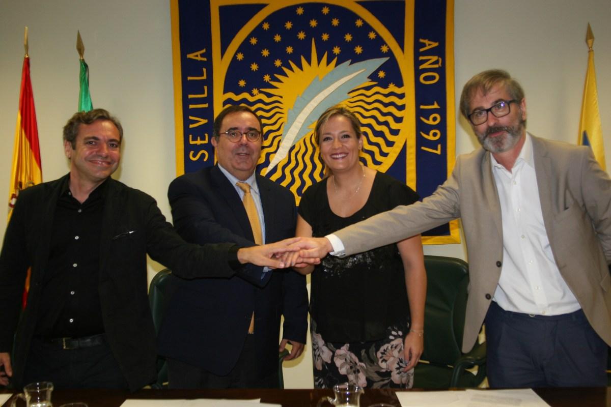 Convenio Emvisesa y Universidad Pablo de Olavide (UPO).