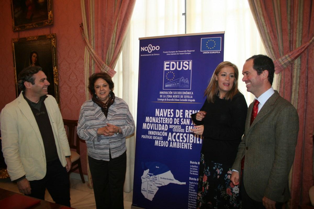 Emvisesa y la Universidad de Sevilla firman un convenio de colaboración para construir alojamientos para estudiantes y profesores en San Jerónimo