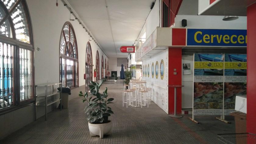 Mercado de abastos de El Arenal.