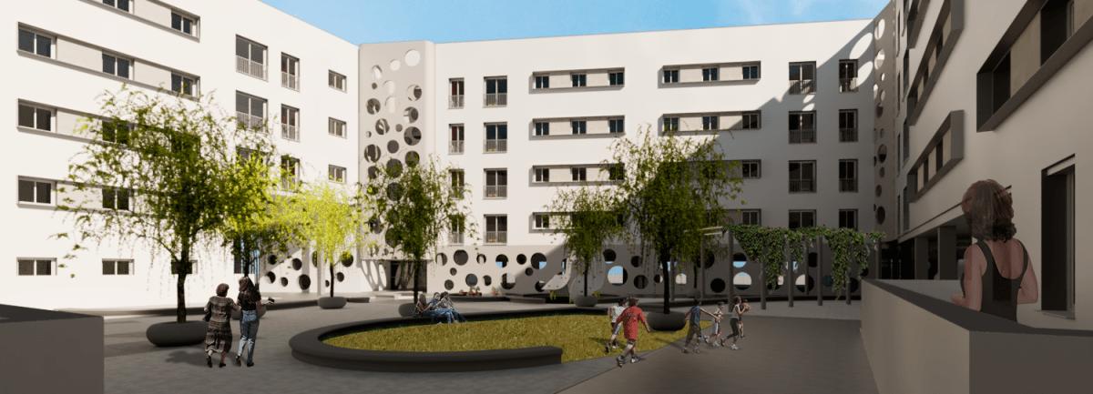 La Gerencia de Urbanismo concede a Emvisesa la licencia de obras para la construcción de una nueva promoción de 83 viviendas en Cisneo Alto