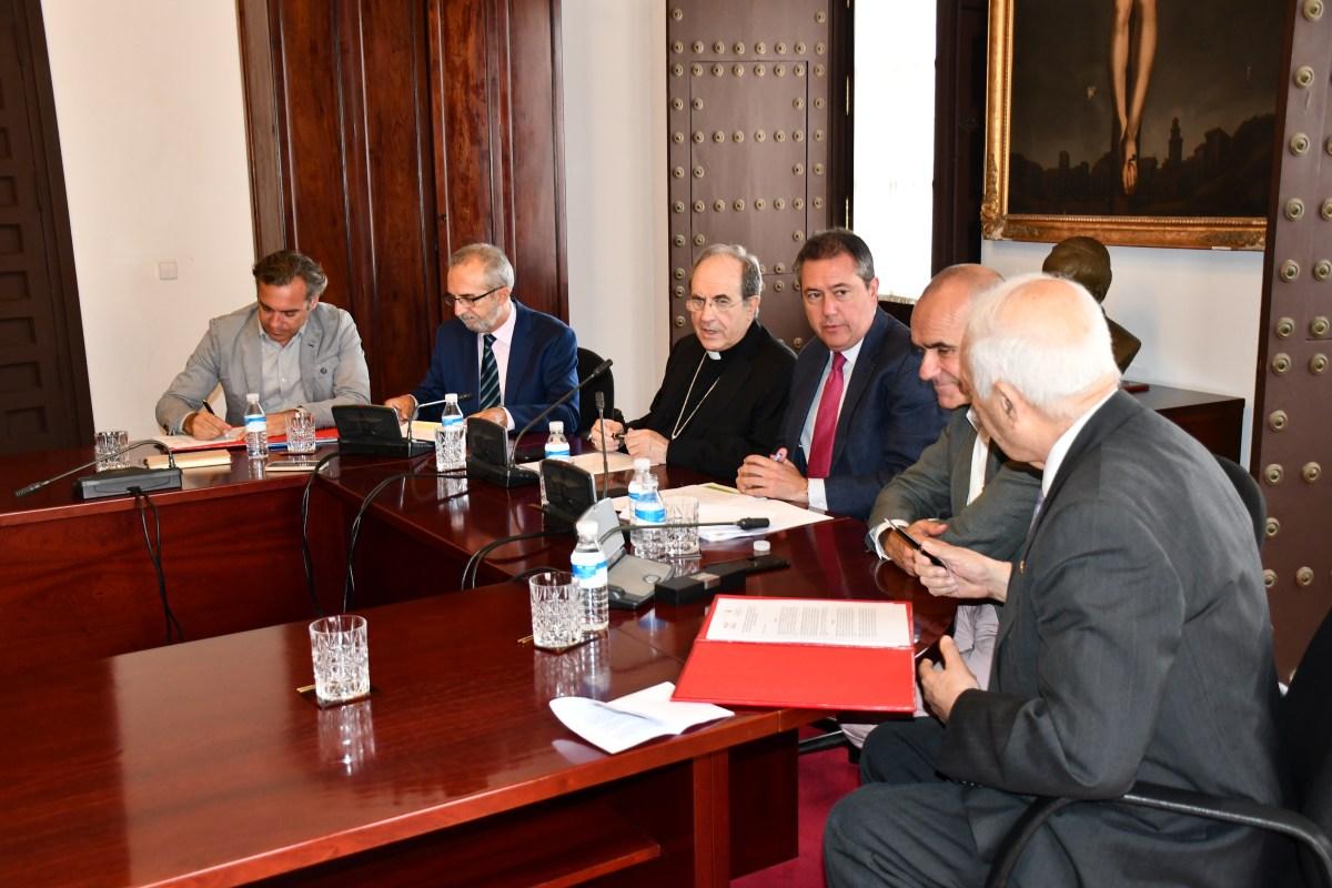 El Ayuntamiento de Sevilla confía a Emvisesa la gestión de la rehabilitación integral de Los Pajaritos. El primer paso es la alianza estratégica con la Real Fundación Patronato de la Vivienda