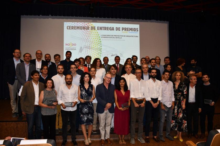 Primer Concurso de Arquitectura de Vicienda Social de Sevilla.