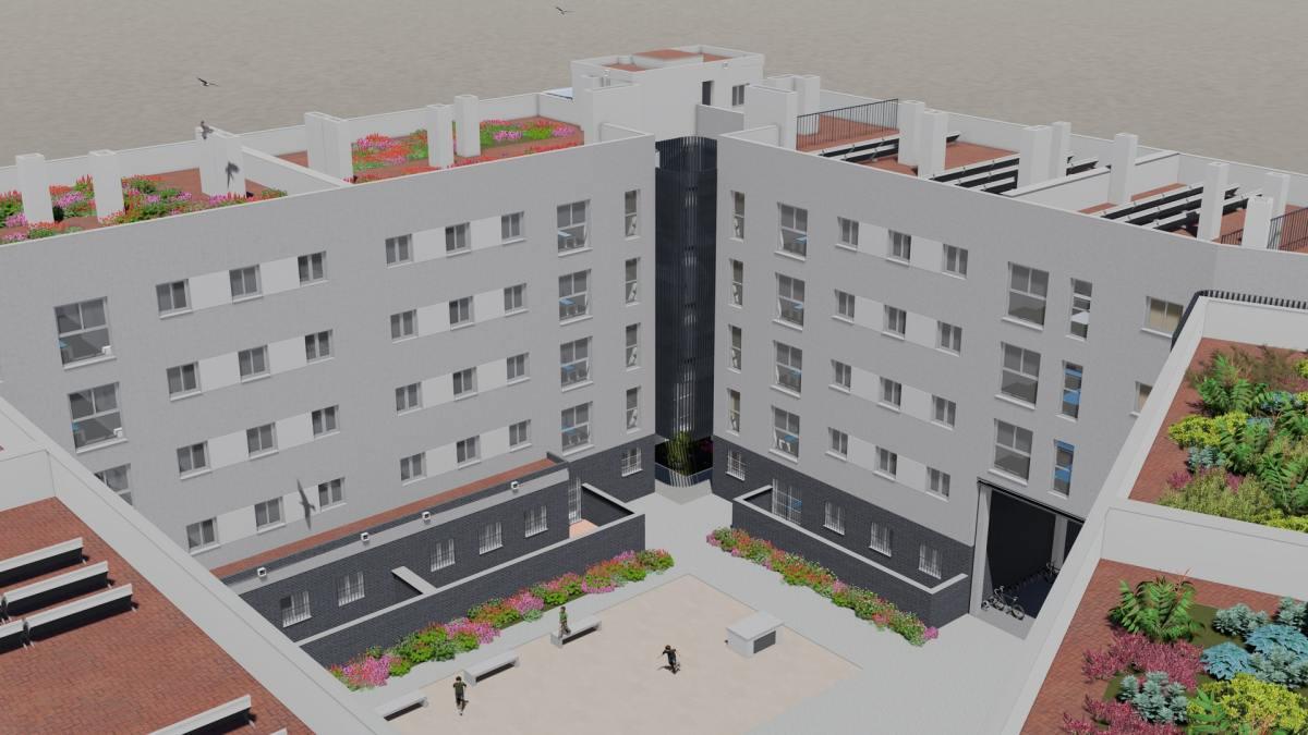 El Ayuntamiento de Sevilla, a través de Emvisesa, aprueba la licitación de la primera obra de nueva promoción de VPO del Plan Municipal con 83 viviendas y una inversión de 9,5 millones de euros