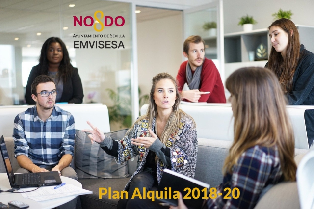 Los inquilinos de Emvisesa reciben, hasta la fecha, un millón de euros en ayudas tramitadas por la empresa municipal en el marco del Plan Alquila 2018-2020