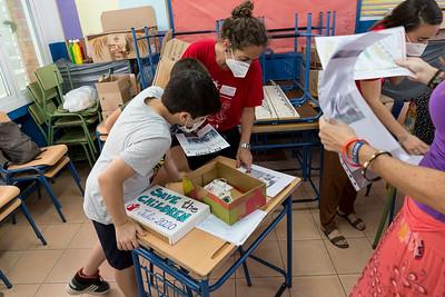 Participación de los niños en el diseño del CRIA. Save The Children.