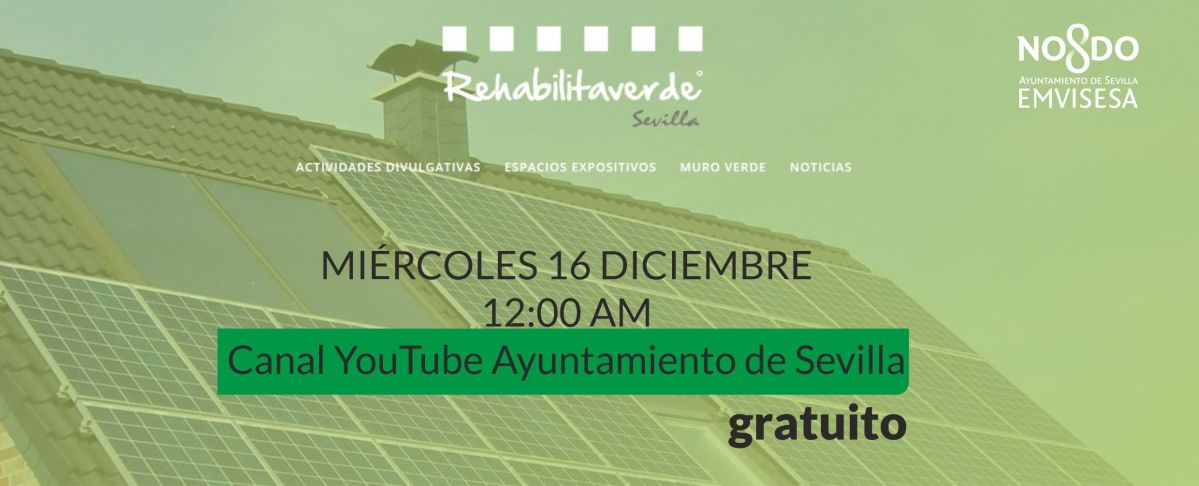 Si te interesan la sostenibilidad, el medioambiente, la rehabilitación eficiente o la economía circular, estás invitado a RehabilitaVerde.