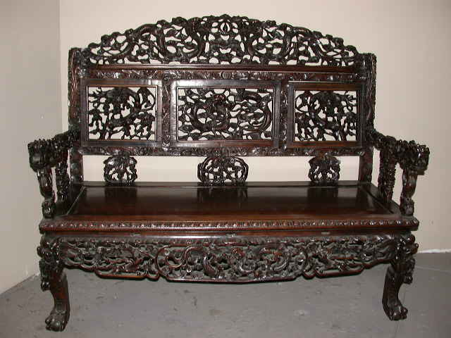 antique chinese dragon chair white desk and set emwa com au chairs oriental furniture antiques rosewood settee