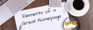 Elements of a Great Homepage