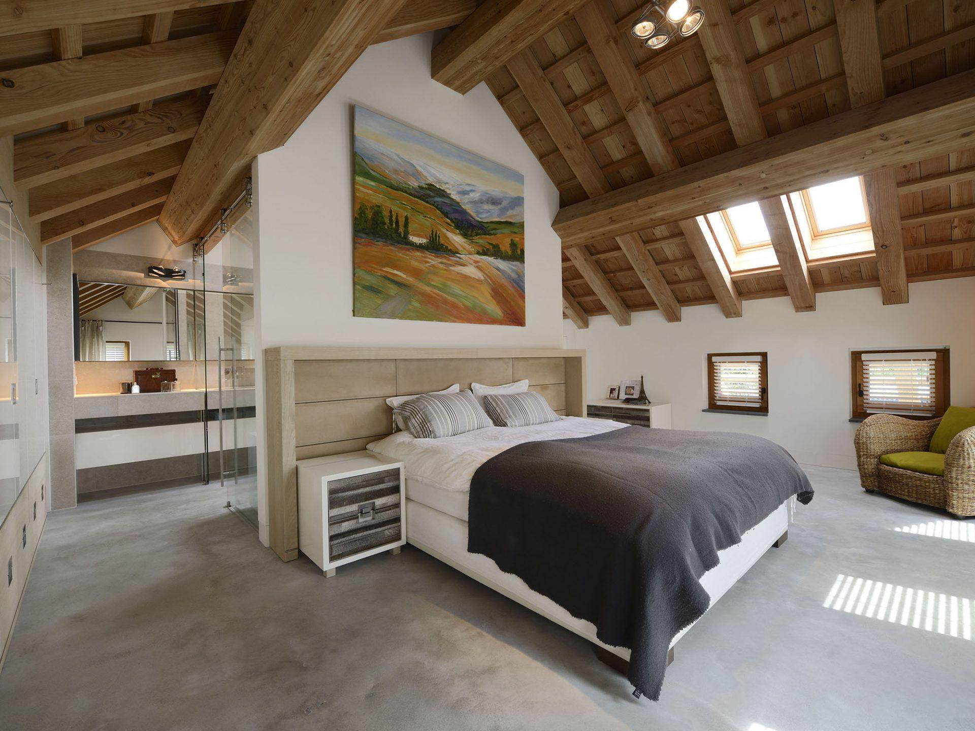 Slaapkamer Met Schuine Wanden Inrichten
